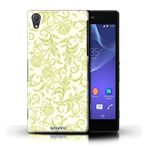 Kobalt® Imprimé Etui / Coque pour Sony Xperia Z2 / Fleurs Jaunes conception / Série Fleurs Fleurs Jaunes
