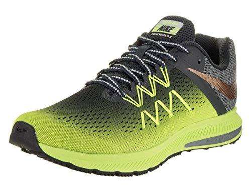 Nike 852441-700, Sneakers trail-running homme Jaune