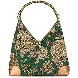 Bolsa de Bordado Flor Bolsa de Retro Estilo Bolsa de Bordados Bolso de Hombro Bolsa de Femenina Vintage Bolsa