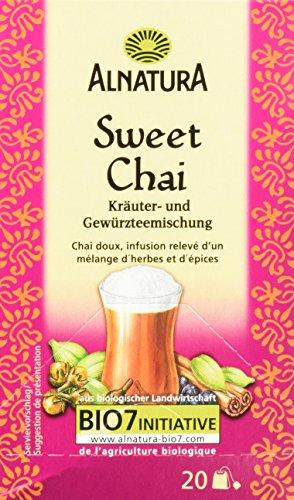 Alnatura Bio Sweet-Chai-Tee, 20 Beutel, 6er Pack (6 x 40 g)