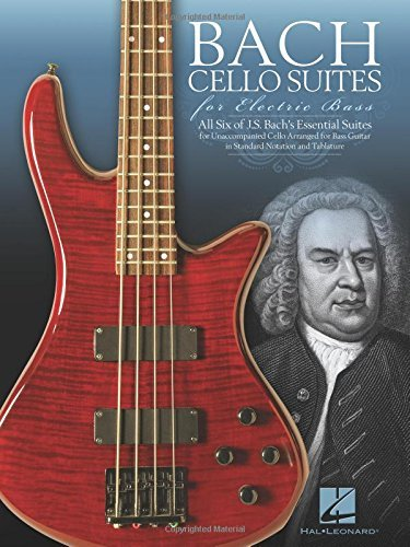 Bach Cello Suites for Electric Bass (December 01,2014)