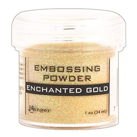 Ranger Embossing Powder, Enchanted Gold
