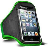 Fone-Case Nokia Lumia 720 verstellbaren Sport Fitness Jogging Arm Band Hülle (Grün)