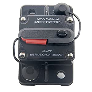 12v Car Auto Boat Audio Fuse High Power 70 Amp Manual Reset Circuit Breaker