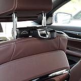 Roadbutler Sparset: Universal Haken + Basisträger Flex/Halterung für Kopfstützen-praktisch für Taschen, Einkaufstüten, Jacken etc.