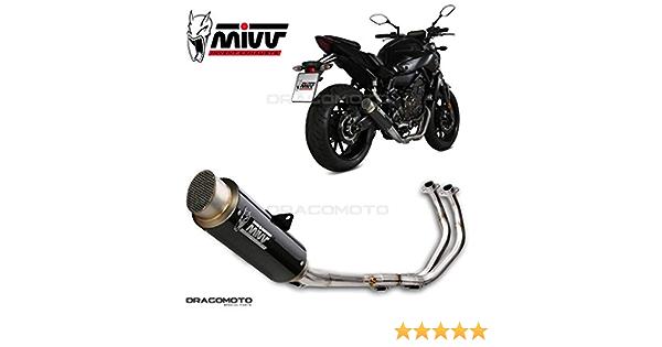Mt 07 Komplette Aupuff Mivv Gp Pro 2014 Carbon Hoch Auto