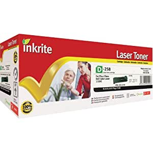 Inkrite Remanufactured Toner Cartridge Replacement for Dell 593-10258 Black