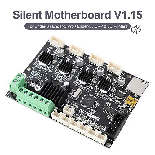 Brownrolly CREALITY Original Neuestes Upgrade Ender 3 Pro Motherboard Silent V1.1.5 Mainboard Für Ender-3X / Ender 5 / CR-10 3D-Drucker Mit USB-Anschluss