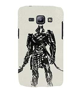 EPICCASE Wolverino ninja Mobile Back Case Cover For Samsung Galaxy J2 (Designer Case)