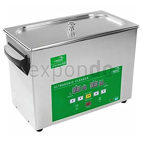 Ulsonix - Nettoyeur à ultrasons Proclean 4.0 - Memory Quick Serie - Capacité 4 Litres - Puissance des ultrasons 120W - Fréquence d'ultrasons 40 kHz - Frais d'envoi inclus