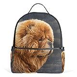 ALAZA Chow Dog Vintage-Rucksack für Schule Bookbag