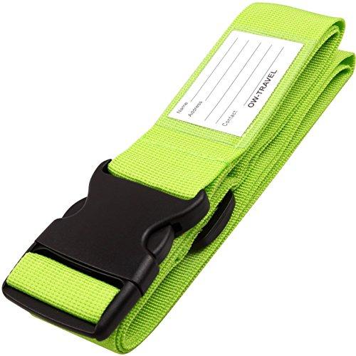OW-TRAVEL OW-TRAVEL Luggage Strap - Correa para equipaje 1 - Green