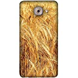 FUSON Designer Back Case Cover For Samsung J7 Max (Wheat Farmers Farms Morning Sunlight Bright Day)
