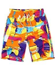 PZLL Velocidad de navegación de verano seco plus tamaño moda pantalones cortos, pantalones cortos de cuadros, pantalones cortos de verano cinco pantalones , xxxl