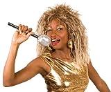 Perruque chanteuse rock célèbre femme - taille - Taille Unique - 174333