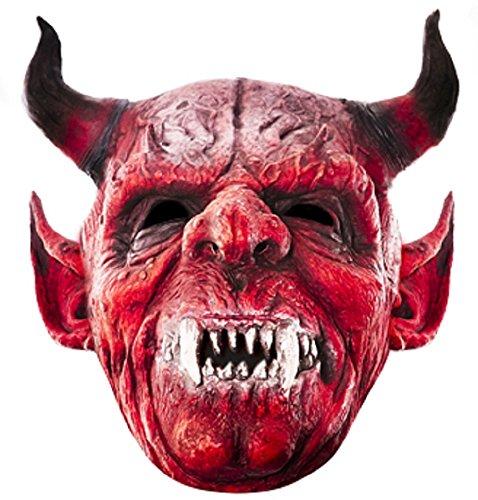 Star Cutouts Bedruckte Gesichtsmaske von Teufel Gesicht Maske