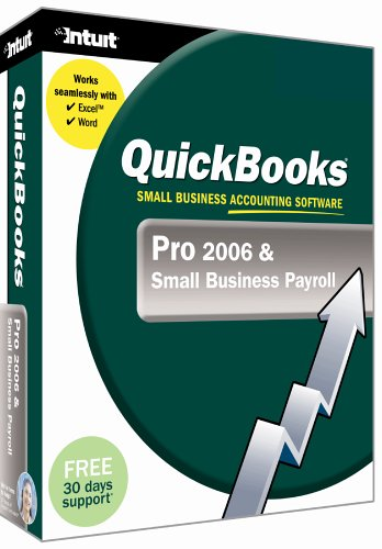 Intuit QuickBooks Pro & Small Business Payroll 2006 (PC)