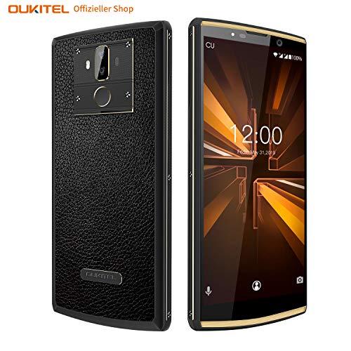[10000 mAh Akku] OUKITEL K7 Pro Handy,Octa-core 4GB RAM+64GB ROM Smartphone ohne Vertrag,Dual SIM 4G LTE Android 9.0 Smartphone,6.0'' HD+ Display Handy,13MP+2MP/5MP Kameras,18W Schnellladung.