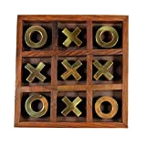 Craftuno Handcrafted Wooden Tic Tac Toe