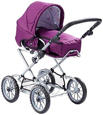 - 24890310 Brio Combi cochecito de muñecas, violeta [importado de Alemania] por Brio