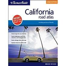 California Road Atlas: Including Portions of Nevada (Thomas Guide California Road Atlas & Driver's Guide)