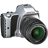 Pentax K-S1 SLR-Digitalkamera (20 Megapixel, 7,6 cm (3 Zoll) TFT Farb-LCD-Display, ultrakompaktes Gehäuse, Anti-Moiré-Funktion, Full-HD-Video, Wi-Fi, HDMI) Kit inkl. DAL 18-55 Objektiv moon silver