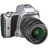 Pentax KS-1 DSLR Camera - Moon Silver (18-55mm DA L Lens, 20MP)
