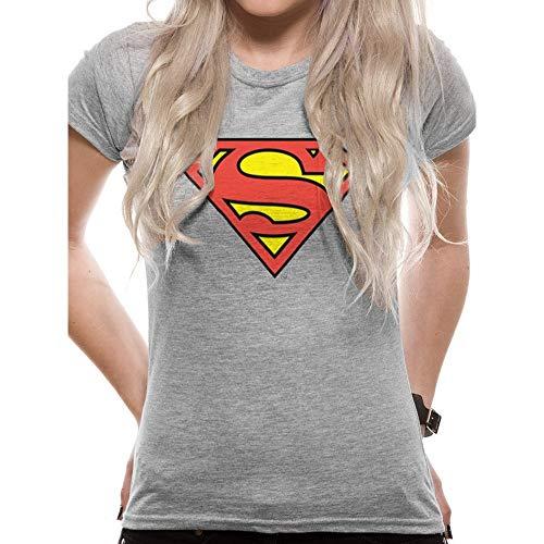 Superman Herren Vd-pe15122s Pullunder, Grau Grey, Small