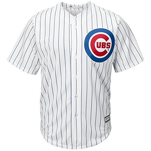 Majestic Chicago Cubs Cool Base MLB Trikot Home XL (Home Go Trikot)