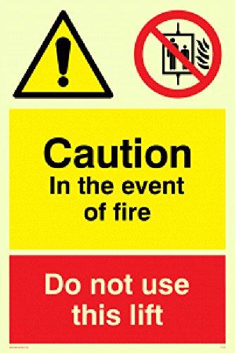 Nicht Verwenden, Lift (Viking Schilder cv140-a5p-p