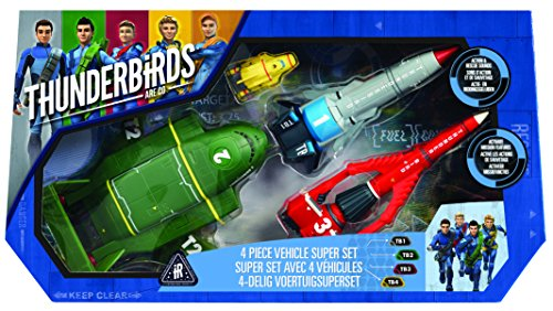 Thunderbirds – 90294.5200 – Super Set with 4 Cars