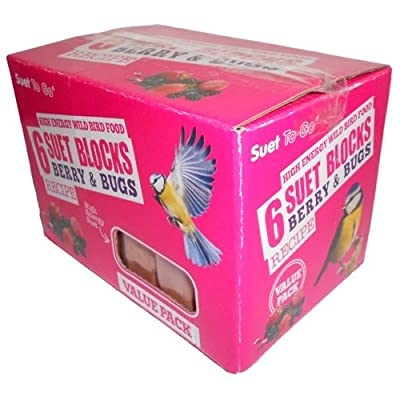Suet To Go Berry and Bugs Blocks from Su-Bridge Pet Supplies Ltd