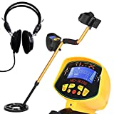 KKmoon Underground Metal Detector,High Sensitivity High Performance Audio Indicate LCD Display with Backlight
