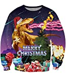 uideazone Unsiex Ugly Christmas Pullover Sweatshirts 3D...
