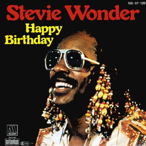 Stevie Wonder - Happy Birthday - Motown - 100 · 07 · 120, Bellaphon - 100 · 07 · 120 (Happy Birthday Stevie)