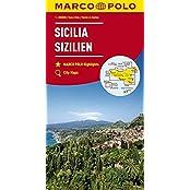 MARCO POLO Karten 1:200.000: MARCO POLO Karte Italien Blatt 14 Sizilien 1:200 000