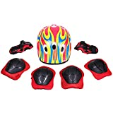 #3: Strauss 4 in 1 Protective Kit Junior, 7 Pcs (Red)