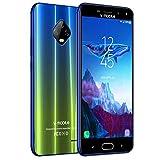 Moviles Libres Baratos 4G,V Mobile J7 5,5 Pulgadas 3GB RAM 32GB ROM,5800mAh Bateria,8MP Camara,Dual Sim,Face ID(Bleu)