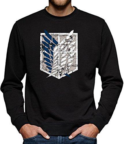 TLM Scouting Legion Sweatshirt Pullover Herren XXXXL Schwarz