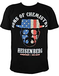 T-shirt breaking bad heisenberg :  sons of chemistry (noir)
