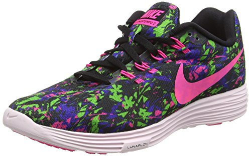 Nike Lunar Tempo 2 Print, Damen Laufschuhe, Mehrfarbig (6), 42 EU