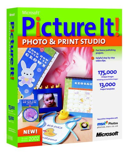 Picture It! Photo and Print CD 2002