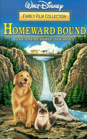 Preisvergleich Produktbild Homeward Bound: The Incredible Journey [VHS]