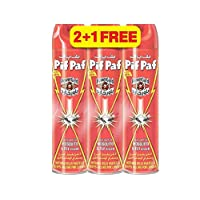 Pif Paf Mosquito & Fly Insect Killer, 3 x 400 ml (Pack of 3)