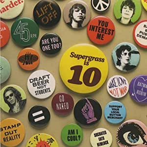 Supergrass Is 10: The Best Of Supergrass 94-04