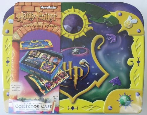 Harry Potter and the Sorceror's Stone 3D Windows Collectors Case for View Master by View Master