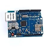 ● Avec cette Shield Ethernet, votre carte Arduino peut être utilisé pour se connecter à Internet. ● Peut être utilisé comme serveur ou client. ● Branchez directement bord de puzzle, aucune soudure nécessaire. ● Contrôleur: W5100. ● Ceci est la ...
