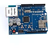 tinxi® W5100 Red Ethernet Shield tablero del módulo de Arduino UNO R3 TF 2560 mega TE146