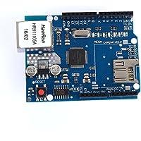 tinxi® W5100 Ethernet Shield Réseau Module Planche pour Arduino Uno R3 TF Mega 2560 TE146