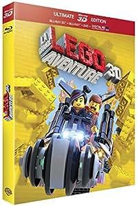 La Grande Aventure Lego - Blu-ray 3D + Blu-Ray + DVD + DIGITAL Ultraviolet [Édition Ultimate - Blu-ray 3D + Blu-ray + DVD + copie digitale] [Édition Ultimate - Blu-ray 3D + Blu-ray + DVD + copie digitale]